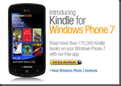 Kindle WP7